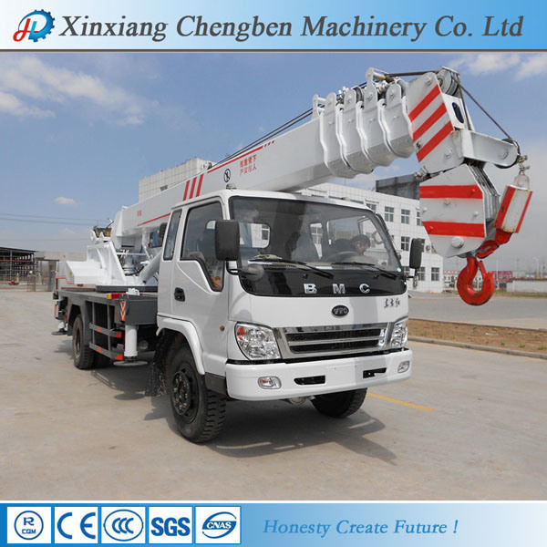 Good Price Used Boom Mobile 6 Ton China Crane Truck for Sale
