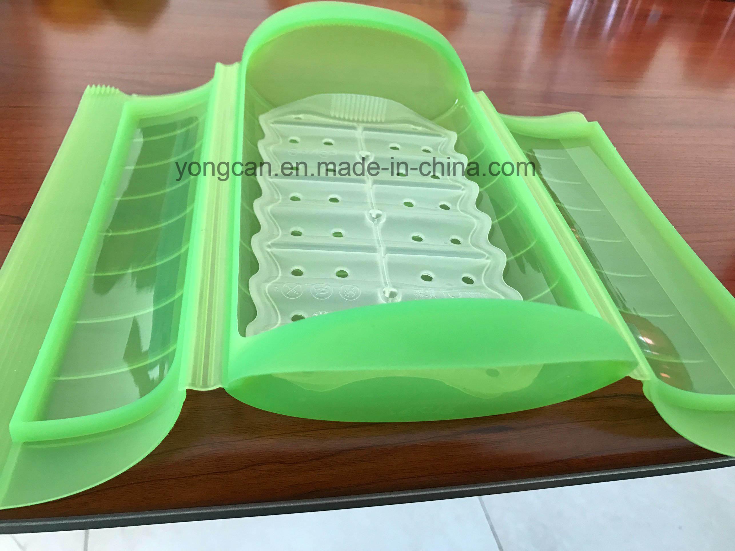 OEM Customize Microwave Used Platnum Silicone Plastic Box