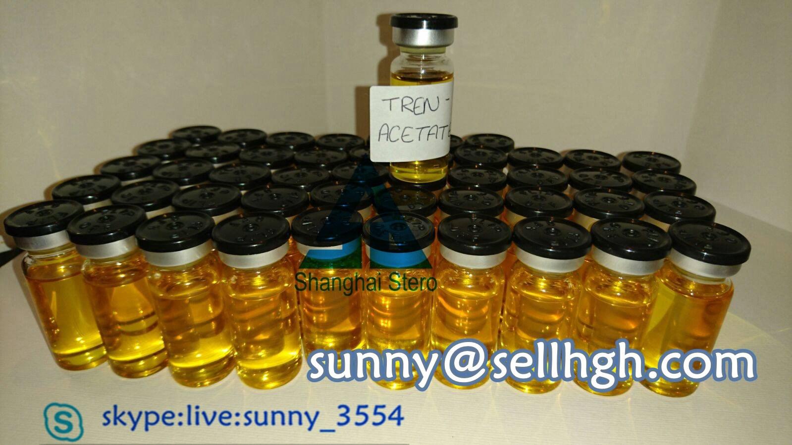 Anabolic Steroids Tren Acetate Hormone Liquids Trenbolone Acetate for Bodybuilding