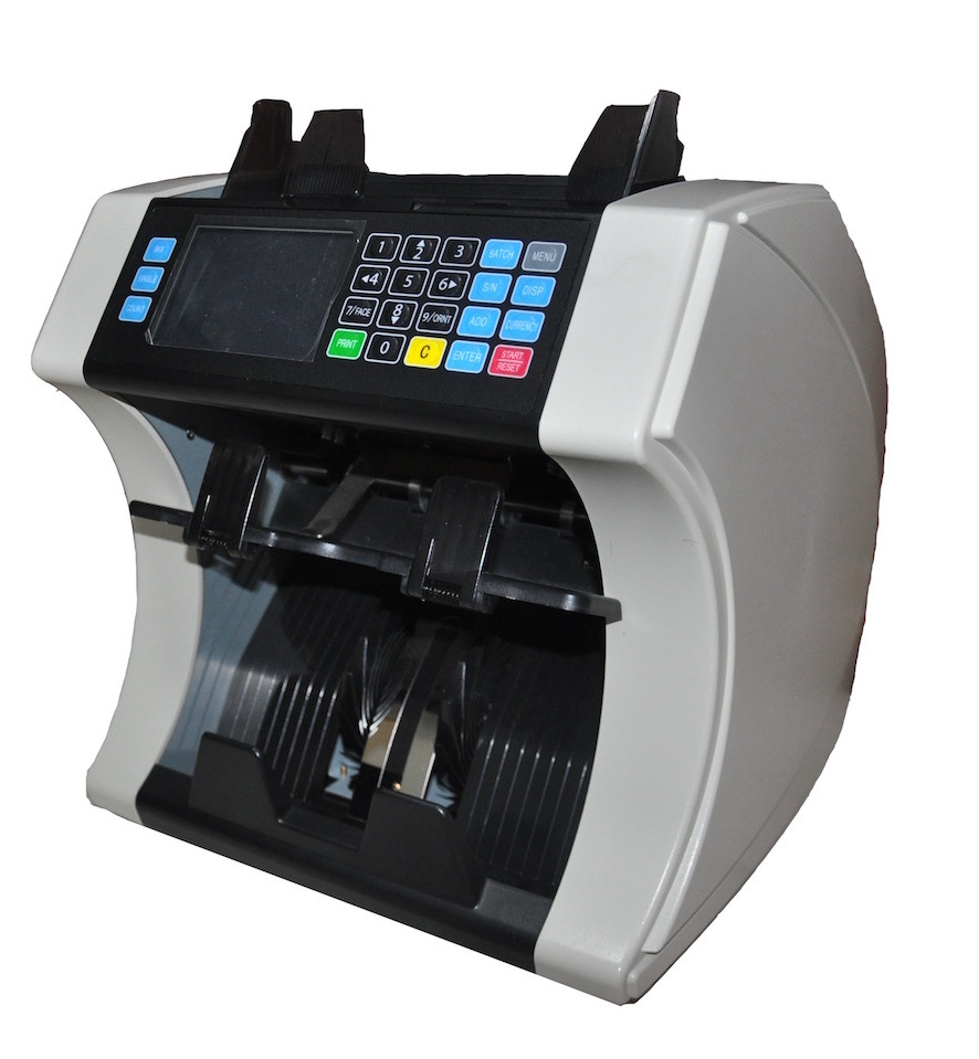 Two Pocket Multi-Currency Value Sorter with Double Cis Sensors