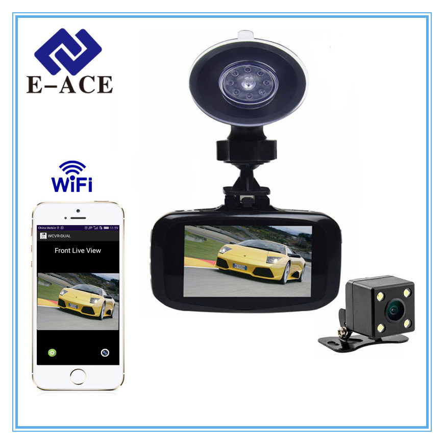 Full HD Mini WiFi Dashcam with Video Recorder