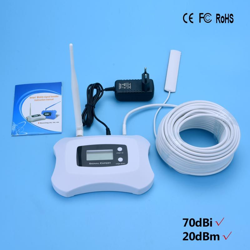 250 Square Meters 1900MHz Mobile Signal Booster, GSM 3G Signal Repeater