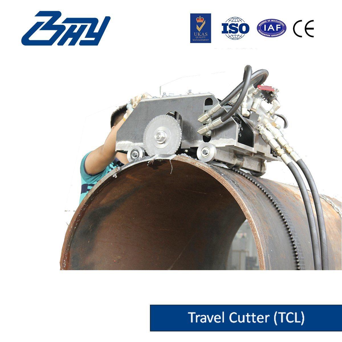Hydraulic Travel-Cutter/Pipe Cutting and Beveling Machine (TC0672)