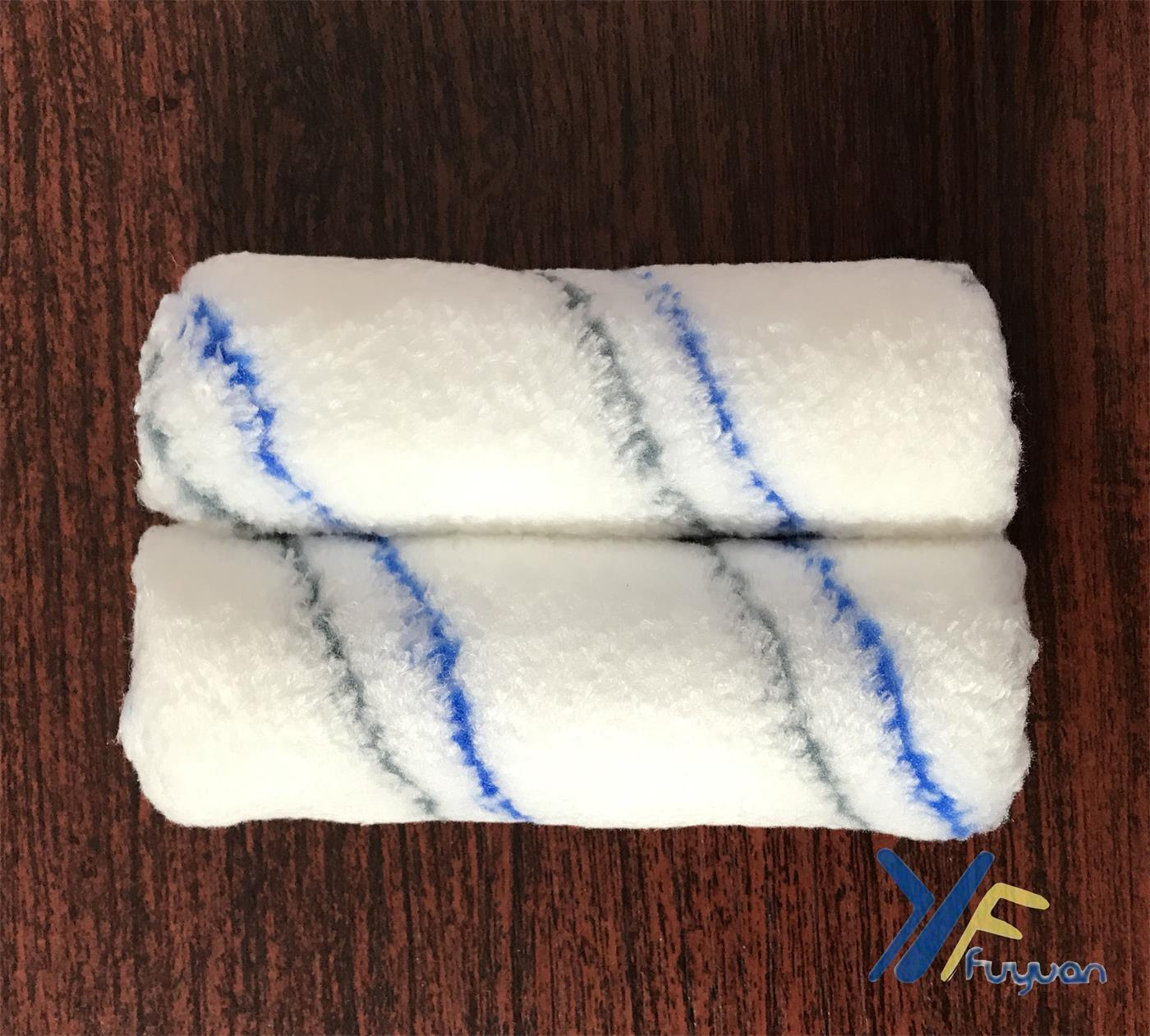 4′′ Microfiber Mini Blue&Grey Stripe Paint Roller