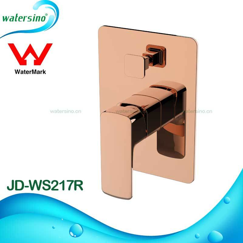 Bathroom Chrome Finish Rain Shower Bath Shower Mixer