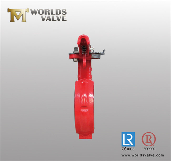 4 Inch Industrial Butterfly Valve