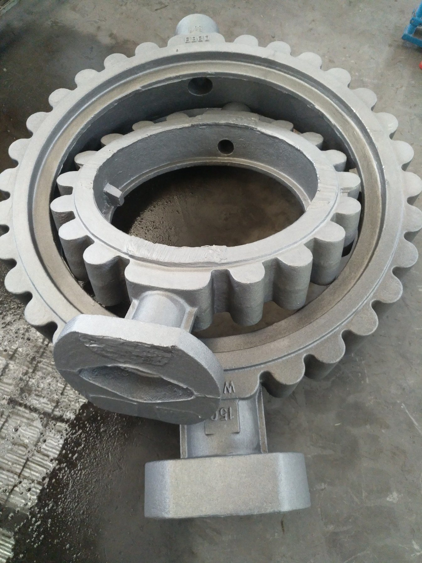 Butterfly Valve Sand Casting Wcb Material