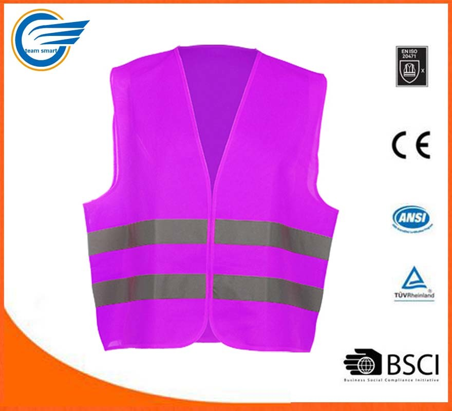 Safety Vest High Visibility Reflective Vest Traffic Vest