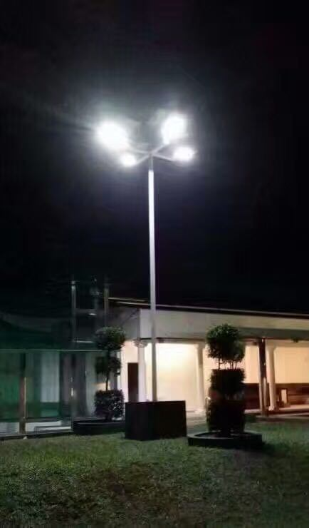 Intelligent Induction Integrated Solar LED Lamp for Street