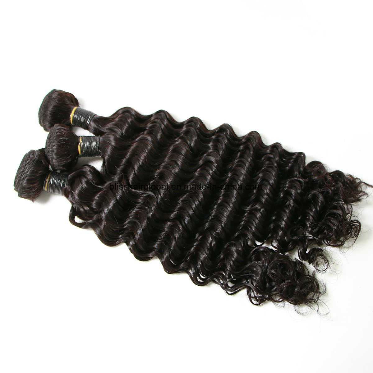 Brazilian Virgin Hair Deep Wave Three Pieces in a Pack