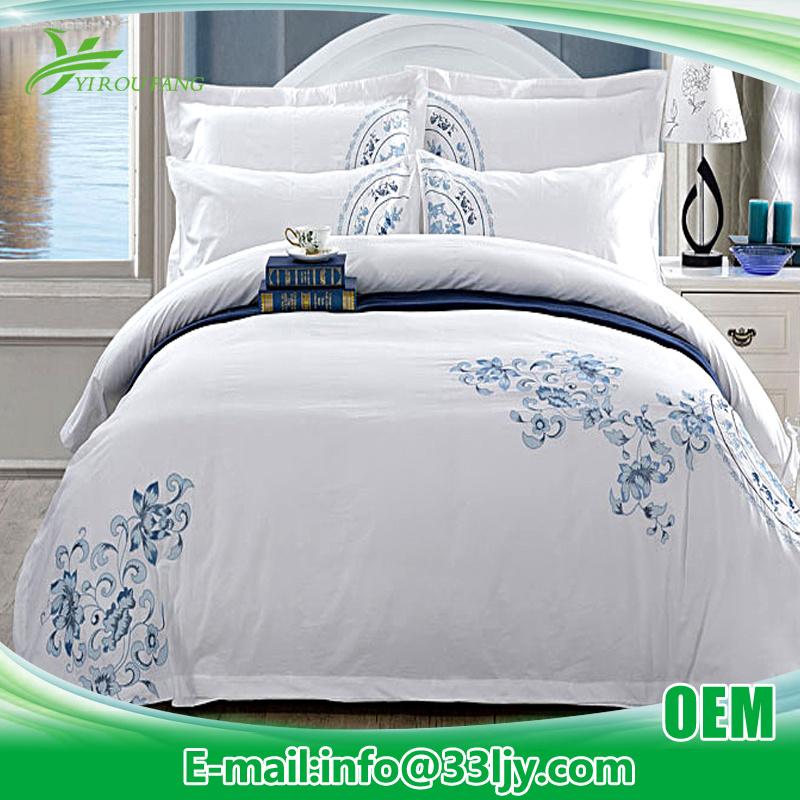Comfortable Cheap Satin Bedding Set for Bedroom