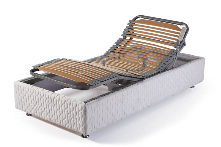 Motorized Bed Frame Boost Motorized Adjustable Bed Frame With Wireless Controls The Futon Shop