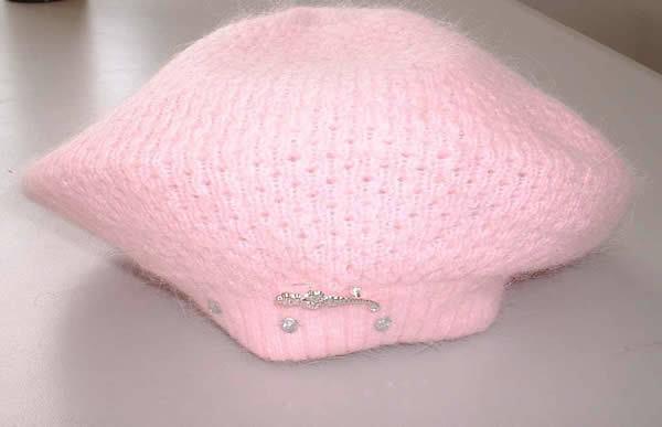 Knitting Patterns Angora Wool : Angora-Wool Knitted Hat - China Hat, Angora-Wool Knitted Hat