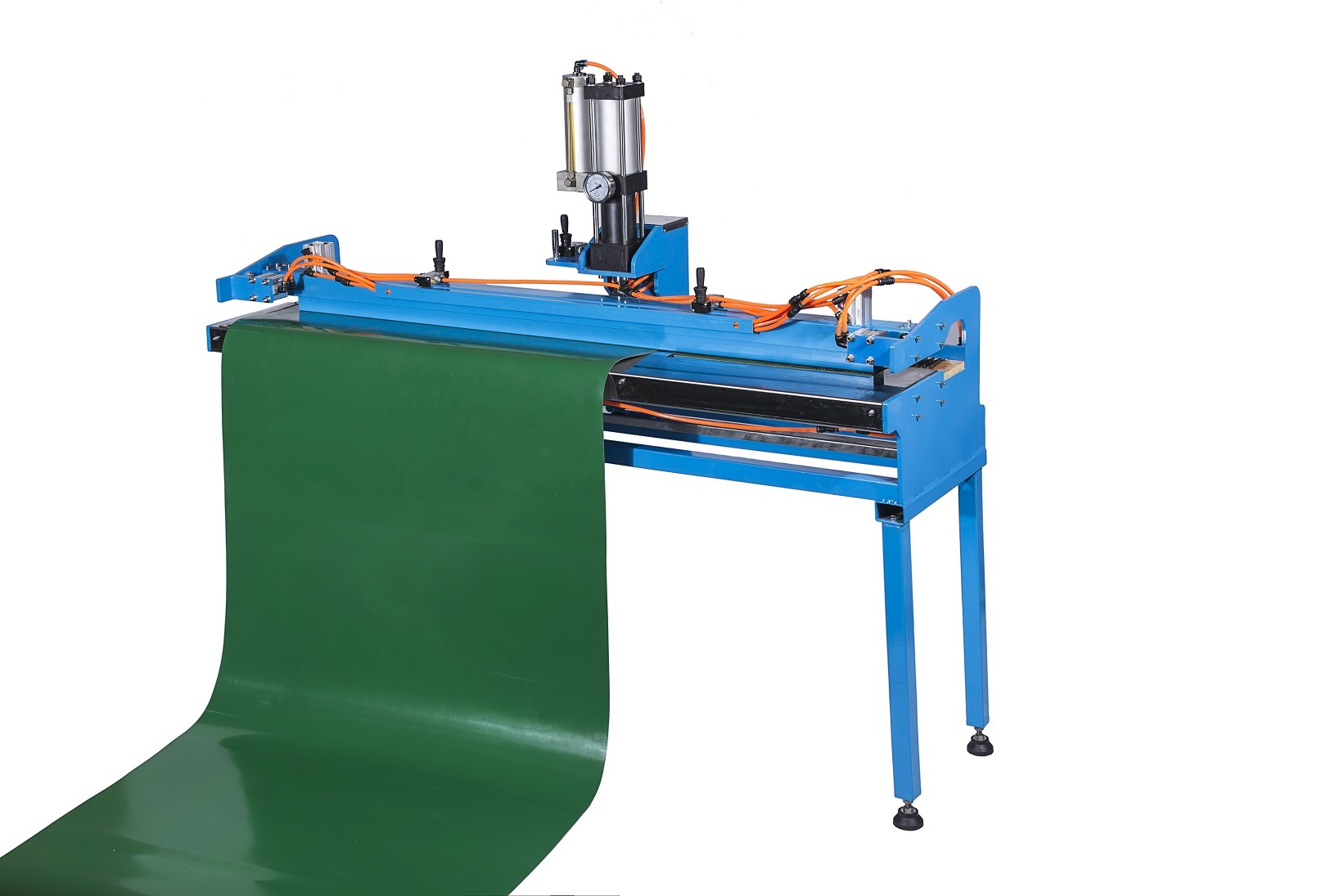 Finger Puncher for PVC Conveyor Belts, Light Weight Belt