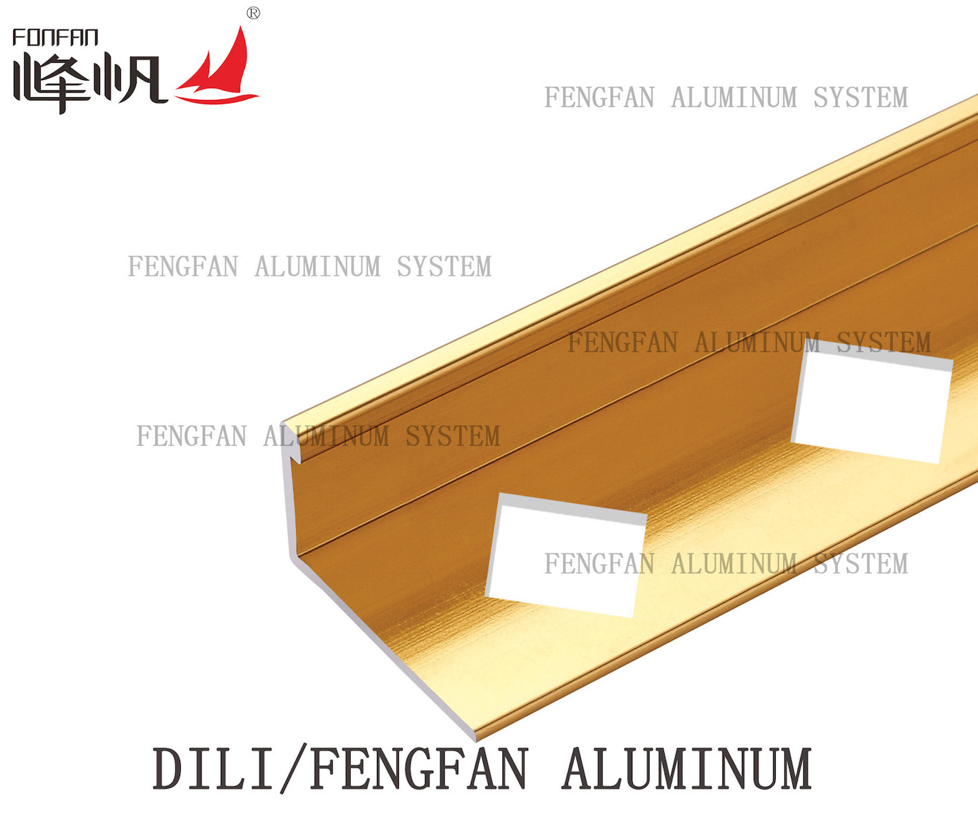 Aluminum Straight Edge Trim