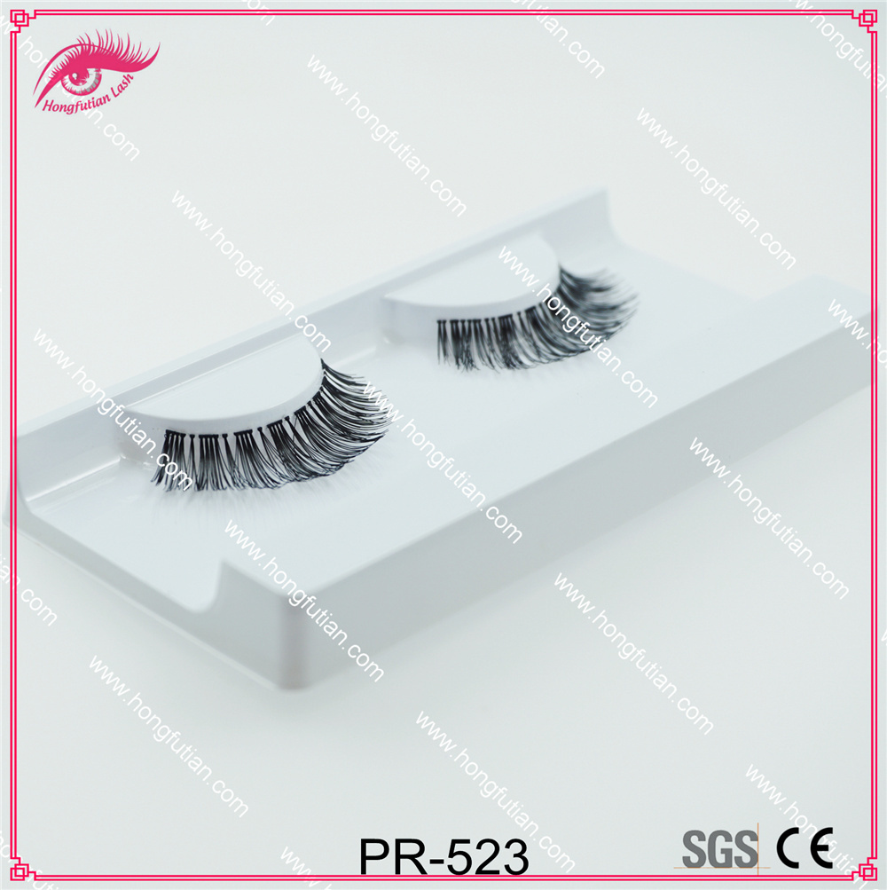 Beautiful Style Human Hair Eyelashes Wholesale