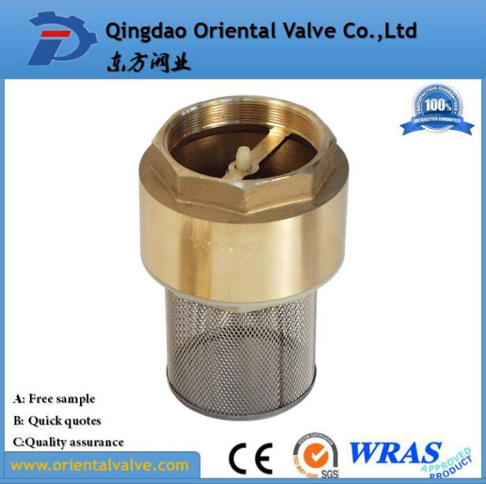 Brass Foot Valve Brass Non Return Valve 1 2 Inch Brass Check Valve