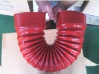 Customized Hose / Flexible Silicone Hose / Silicone Rubber Hose Wire Reinforced, ISO Certificated Manufacturer