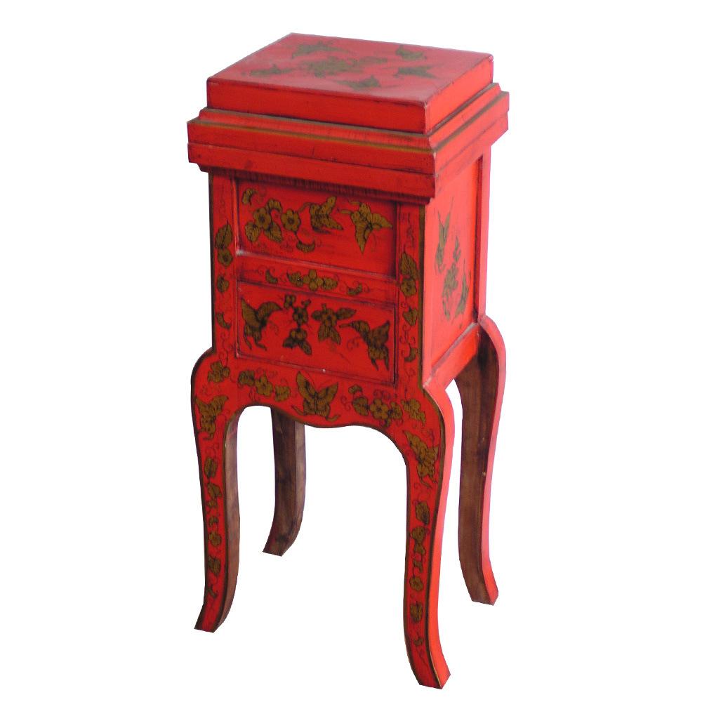 Painting Laddies Cabinet (BG-069) - China Furniture, Wooden Furniture