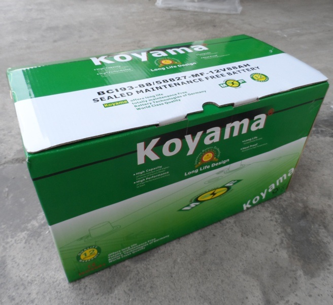 Koyama USA Standard 12V Car Battery Vehicle Battery 58827-Mf