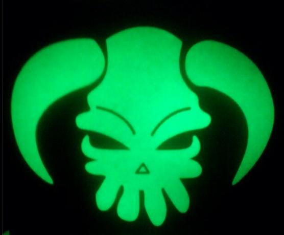 Heat Transfers for Tee - Glow in Dark