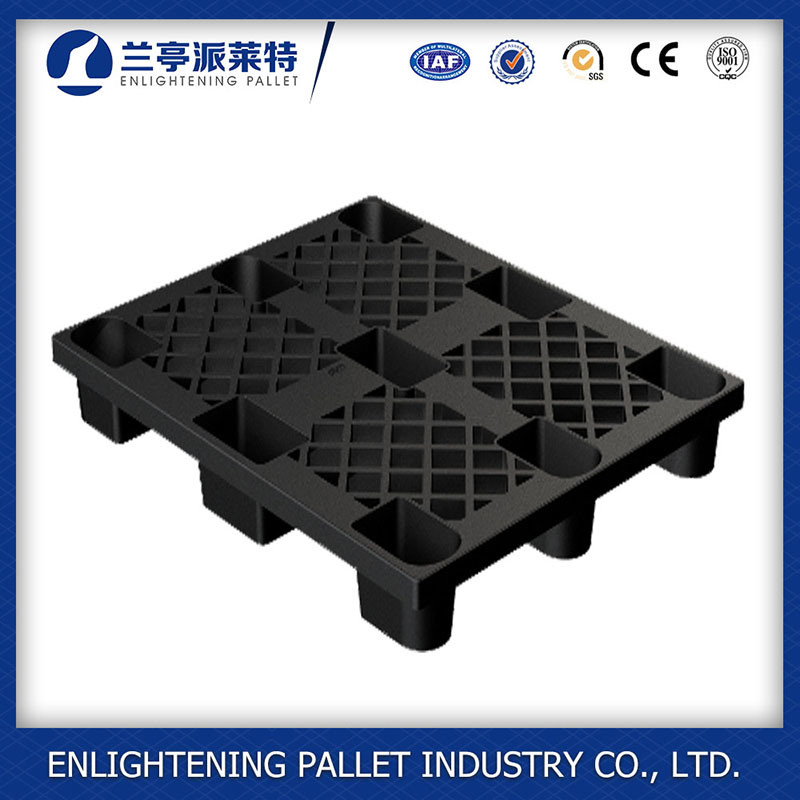 Light Weight HDPE Plastic Pallet with Nine Legs in 1100lx1100 W X 140h mm