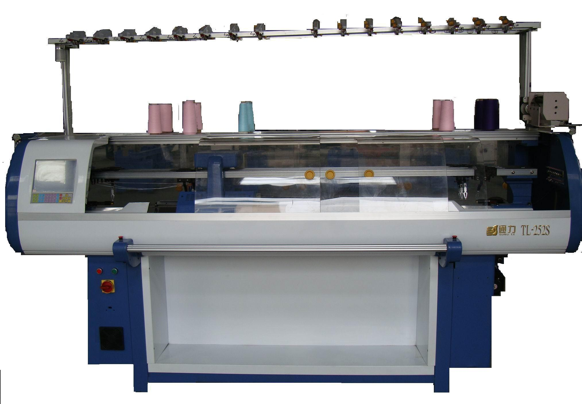 Knitting Machines : China fully fashion flat bed knitting machine photos