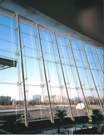 Curtain Wall Types : China self balancing cable truss type curtain wall