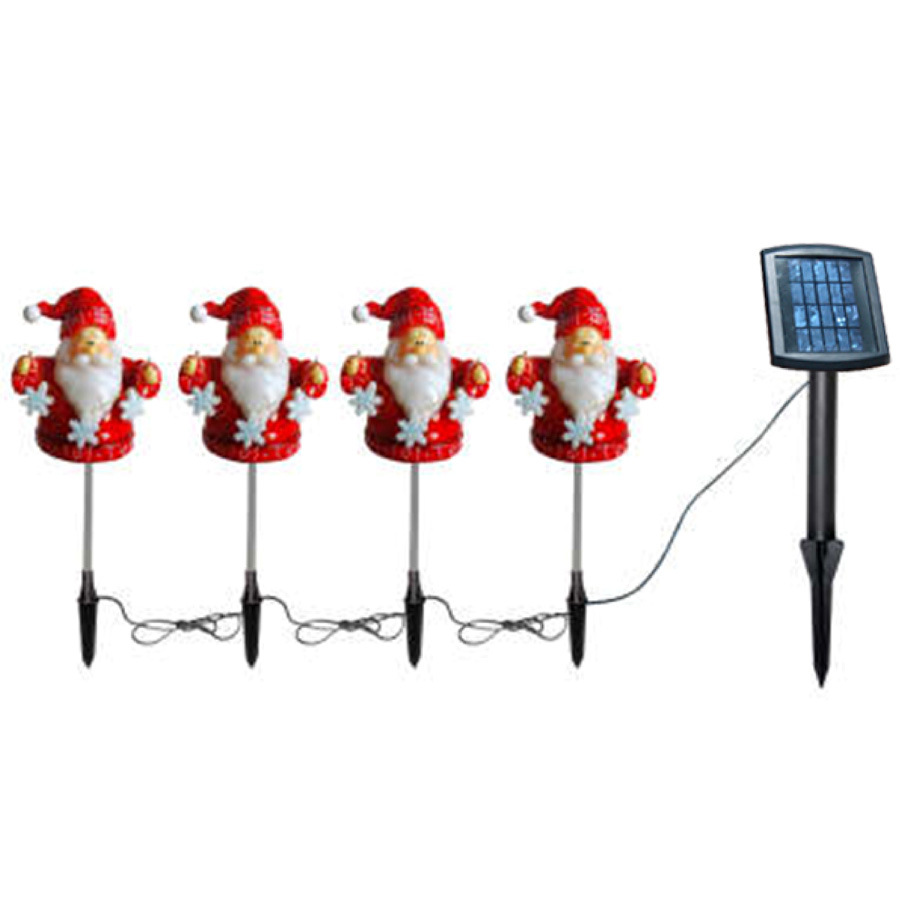 China Solar Christmas String Light(JT-S012) - China Solar String Light, Solar Santa Light