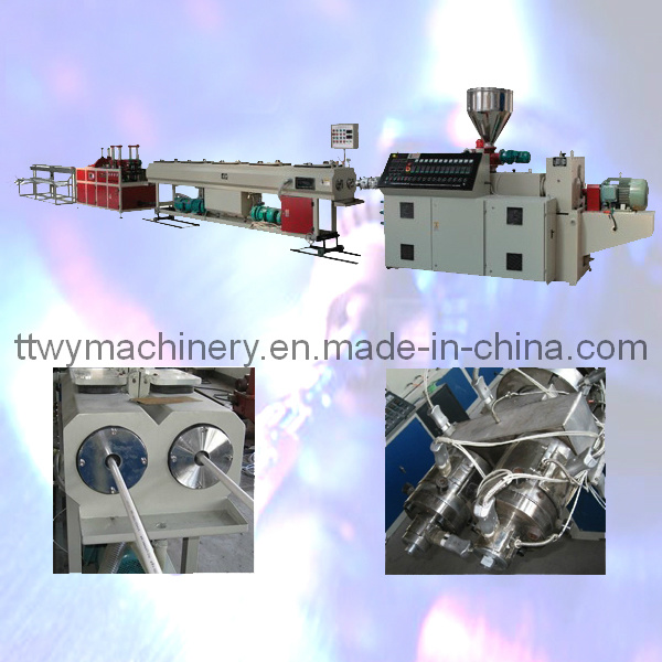 PVC Twin Pipe Extrusion Production Line (SJSZ-51/63)