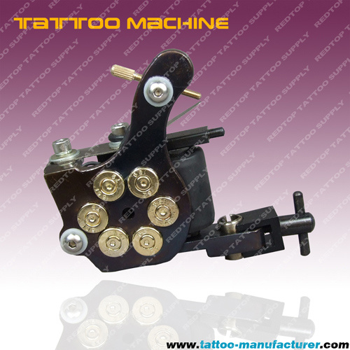 Tattoo Machine Kit 4 Gun Power Needle Skin Grip& More C Description : BRAND