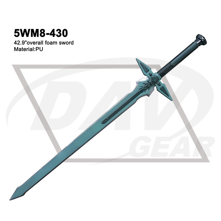 "42.9"" Overall Foam Sword Art Onlin Sword with Painting: 5wm8-430"