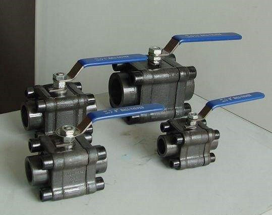 ANSI Standard High Pressure Three Piece Forged Steel Ball Valve