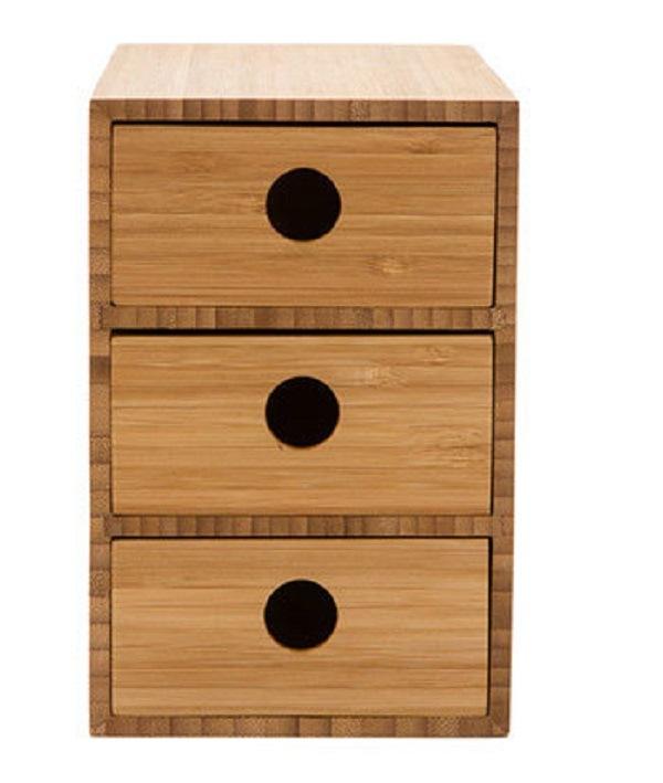 Bamboo Desk Multi Storage Desk Organizer