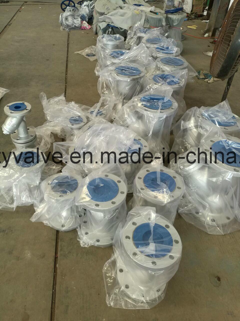 """API/DIN/JIS Cast Steel A216 Wcb 2 1/2"""" Dn65 Y Strainer"""