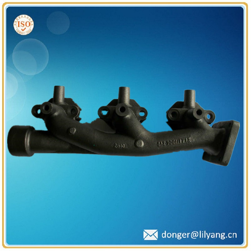 Casting Ni-Resist Iron Exhaust Manifold, Exhaust Manifold Auto Part