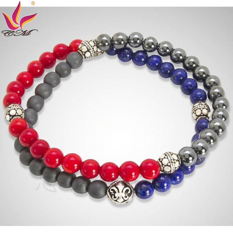 SMB003 Fashion Two Line Designer Jewelry Bracelets