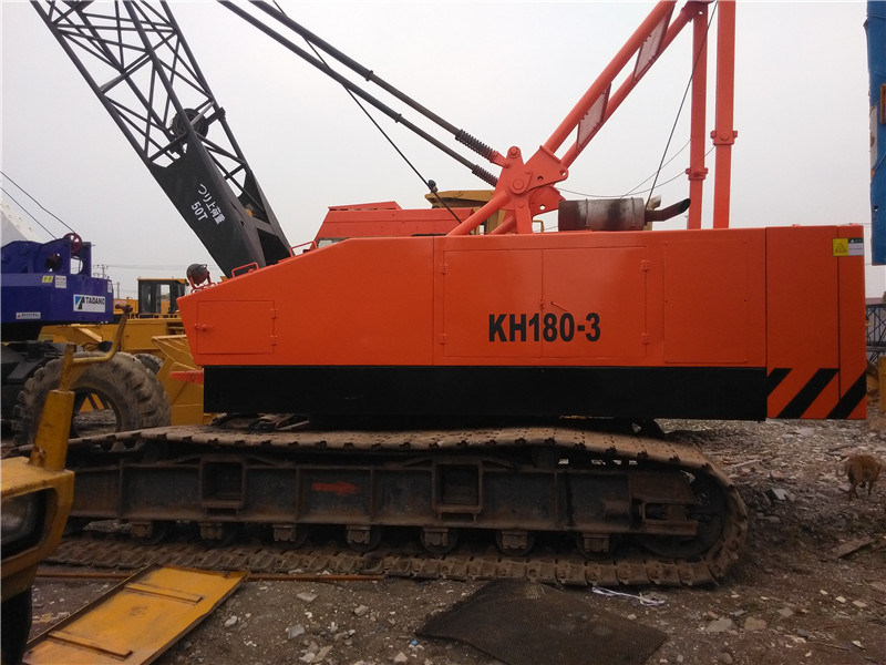 Used Hitachi Ex180-3 Crawler Crane Original Japan