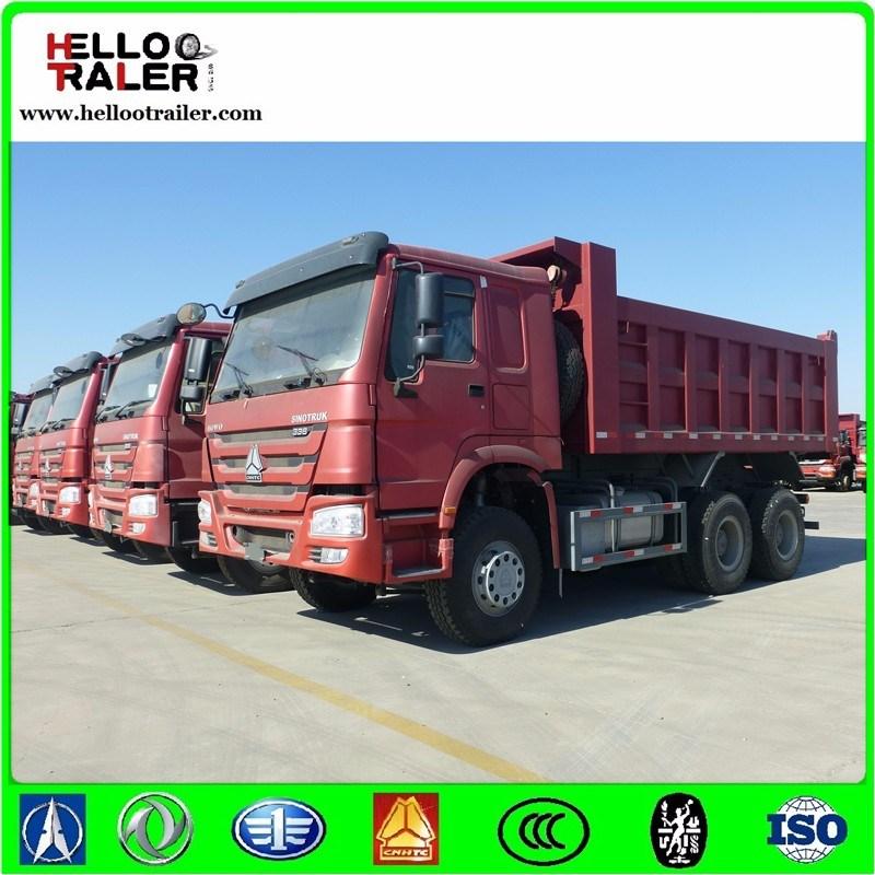 HOWO 30t Tipper Truck 6X4 Heavy Duty Dumper Truck for Sale