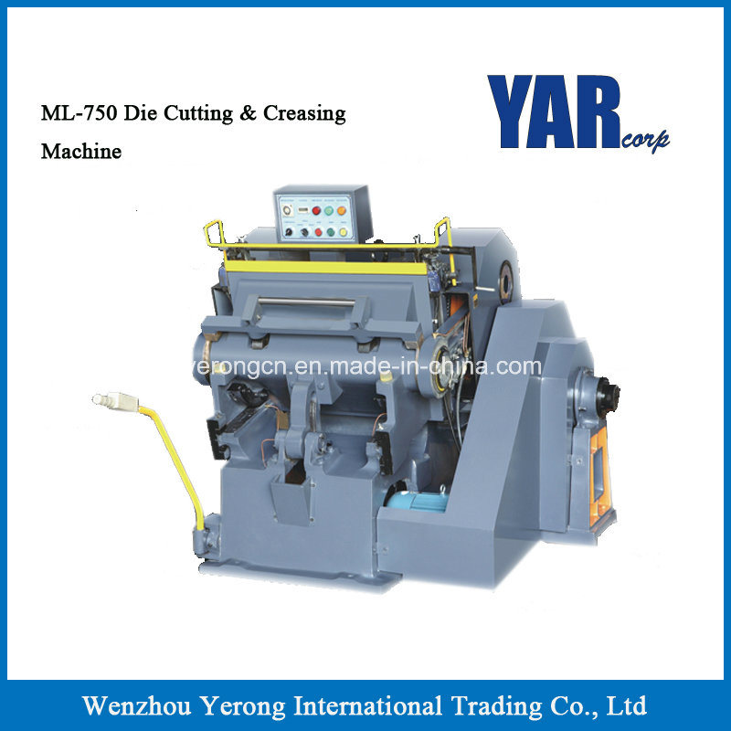 High Quality Ml Series Die Cutting & Creasing Machine with Ce