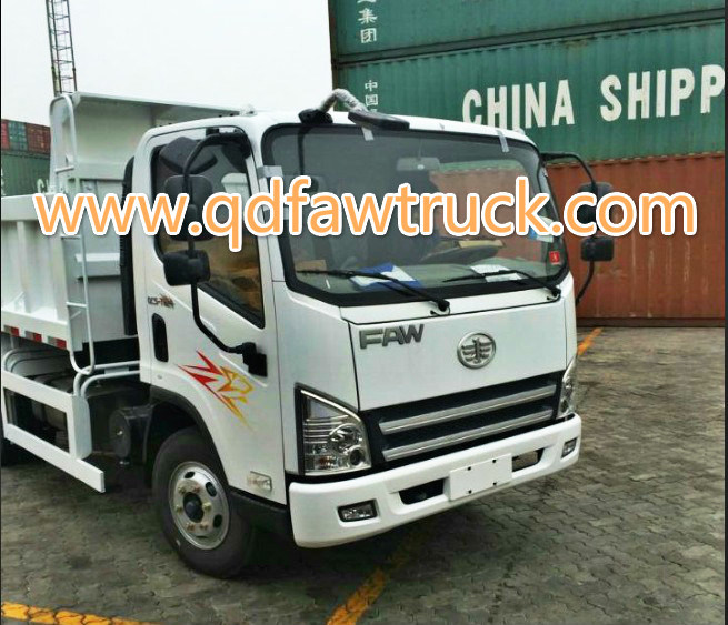 3-5 tons Small dump truck, Light Dump Truck FAW