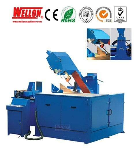 Vertical Mitering Band Saw Machine with CE Approved (GV5365 GV5370)
