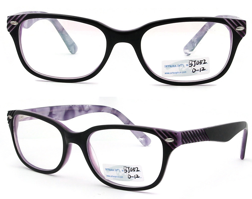 Acetate Eyeglasses Frame : 2012 New Design Acetate Eyewear Stylish Optical Frame ...