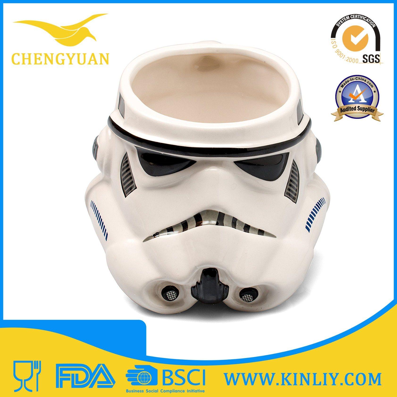 Mighty Ceramic Star Wars Tea Cup Coffee Mug with Lid