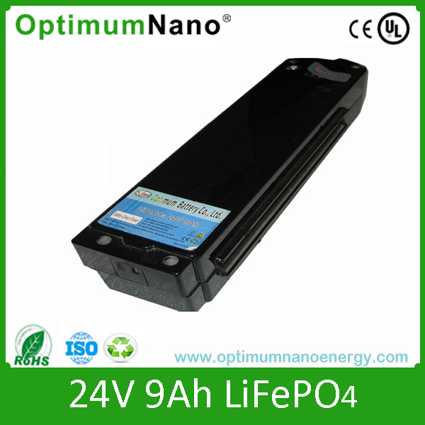 LiFePO4 24V 9ah for Street Light with PCM and Charger