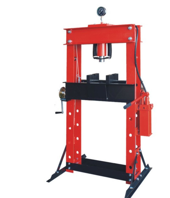 Shop Press with Guage 50t