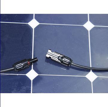 Certificated by Ce ISO High Efficiency 100W 18V Semi Flexible Sunpower Solar Panel