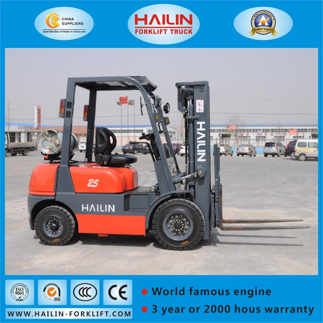 Dual Fuel Forklift Truck, Gasoline&LPG