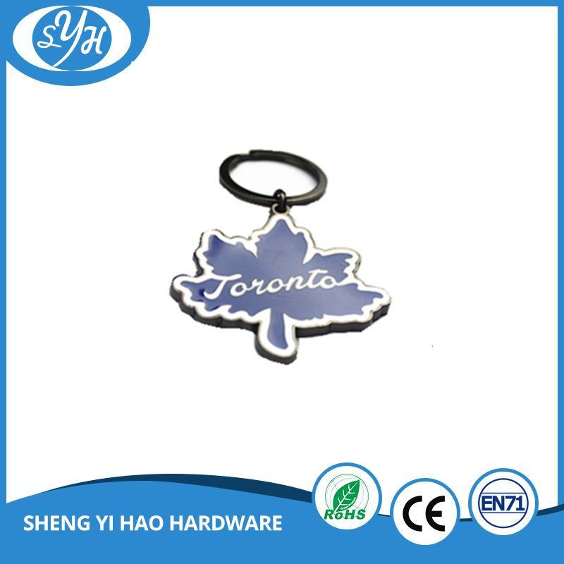 Fashion Design High Quality Enamel Keychain with Epoxy