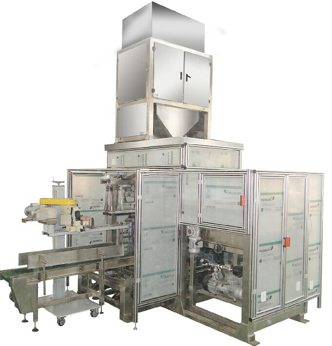 Full Automatic Washing Powder Particle Packaging Machine / Packing Machine (VFFS-YH17)